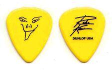 Richie Kotzen Signature Yellow Tour Guitar Pick - Poison Mr. Big Winery Dogs