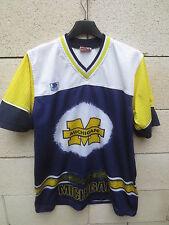 Maillot football américain WOLVERINES MICHIGAN vintage STARTER shirt jersey M