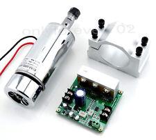CNC Fräse spindel 0.4KW Spindle Motor ER11& Mach3 Controller & Halterung