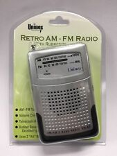 Battery Operated AM FM Portable Pocket Radio