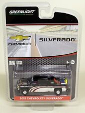 Greenlight 1/64 Scale 2015 Chevrolet Silverado Black Diecast Model Car