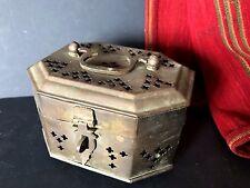 Old Turkish Brass Hammam / Turkish Bath Soap Box …beautiful collection item