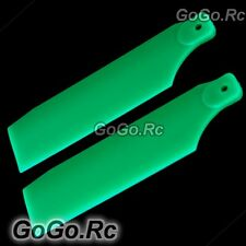 700 Tail Rotor Blade For Trex T-rex 700 Helicopter Fluorescent Green (RH7057-04)