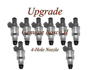 BOSCH II UPGRADE FUEL INJECTOR SET  (8) 92-94 Dodge 5.2