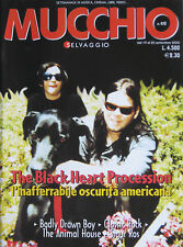 MUCCHIO 410 2000 Black Heart Procession Badly Drawn Boy Radio Birdman Kinks Reed