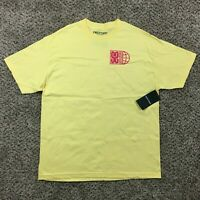 NEW OFWGKTA Earl Sweatshirt Shirt Men Sz XL Yellow Odd Future Rap Tee Tyler NWT