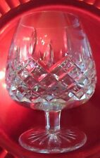 PAIR Rogaska Miller HAMILTON Brandy Glass