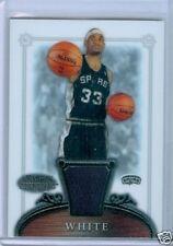 06/07 Bowman Sterling RC JERSEY #54 James White $15