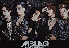 MBLAQ - A3 Poster (ca. 42 x 28 cm) - Band Clippings Fan Sammlung NEU