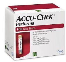 Accu-Chek Performa 300 Test Strips NEW STOCK (3 Boxes x 100 Each)