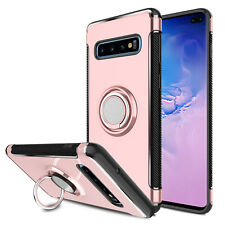 For Samsung Galaxy Note 10 Plus/S10+/S10e Hybrid Magnetic Ring Holder Stand Case