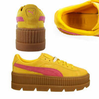 Puma Fenty By Rihanna Cleated Creeper Lace Up Suede Womens Trainers 366268 03