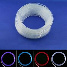Fiber Optic Cable LED Strip Light Guide Tube Side Cable Glow 6MM*5M Decoration