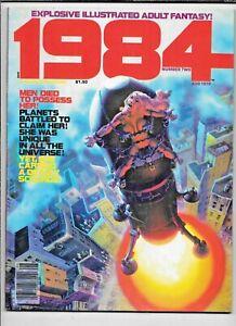 1984/1994 Magazine #2 August 1978 Warren Wood Corben Nino FN Heavy Metal Artist