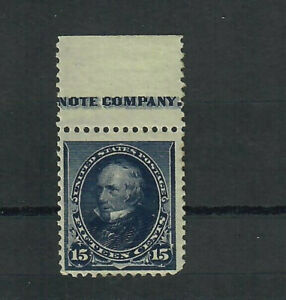 US Scott # 227, MINT / VF / NH w/Slightly Disturbed but VERY FRESH GUM! SCV $180