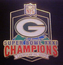 Green Bay Packers Super Bowl 31 Champions Collector Pin