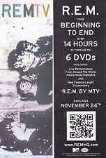 R.E.M. Bookmark 2014 Rem By Mtv Official Promo Mint Rare New Cheap!