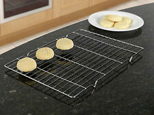 Cooling tray rack grill for hot food in chrome 13 inch X 9 inch
