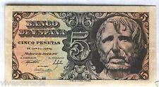 5 pesetas 1947 Séneca @@ EXCEPCIONAL PIEZA @@