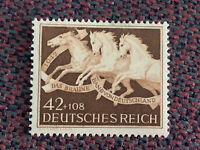 Germany WWII Stamp 1942, Mi.815, Scott B205, ** MH (postfrisch)