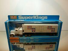 MATCHBOX K-31 PETERBILT REFRIGERATION TRUCK - IGLO - L30.0cm - VERY GOOD IN BOX