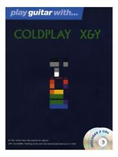 Learn to Play Guitar With Coldplay X&Y POP Chart Hits Songs Tunes Tab MUSIC BOOK