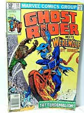 Marvel Ghost Rider Meets Werewolf No. 55 1981