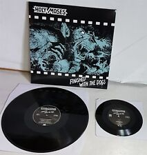 Holy Moses Finished With The Dogs Black Vinyl + 7'' LP Record new