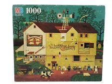 Vintage Charles Wysocki 1000 Piece Puzzle Dr. Irving Roberts Vet 1992 Complete