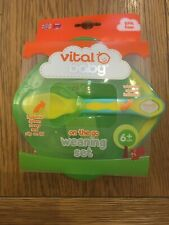 VITAL BABY On The Go Weaning Set BRAND NEW