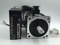 1KW AC Servo Motor 4Nm NEMA34 Driver 2500rpm Modbus Control+Encoder&Power Cables