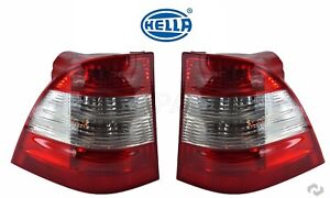 For Mercedes W163 ML350 ML500 Set of Left & Right Tail Light Assies OEM Hella