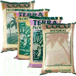 Terra Professional Plus, Coco & Natural 50L - Canna
