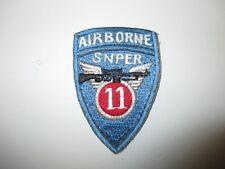 b5722 US Army Vietnam 11th Airborne Air Assault Division Sniper IR38D