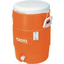 Vintage Jug Igloo 5-Gallon Orange Heavy-Duty Safety Water  Beverage Cooler New