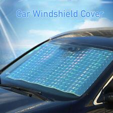 Car Windshield Windscreen Cover Laser Front Rear Window Sun Shade Visor Light