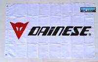 Dainese Flag 3x5 ft Banner Moto Motorcycles White