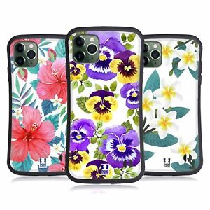 HEAD CASE WATERCOLOUR FLOWERS 2 HYBRID CASE & WALLPAPER FOR APPLE iPHONES PHONES