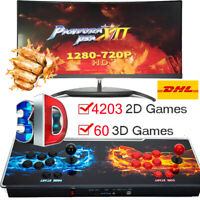 2021 Hot 4263 Games Arcade Console Pandora's Box Retro  HD Game Controller 2P