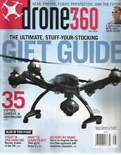 DRONE 360 SPECIAL MAGAZINE GIFT GUIDE FALL 2015 - NEW - FREE SHIP!