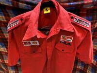 Vintage Authentic Ferrari Marlboro F1 Team/Crew Issue Fila Shirt, med-large
