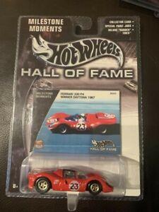 Hot Wheels Hall of Fame Milestone Moments FERRARI 330 P4 WINNER DAYTONA 1967