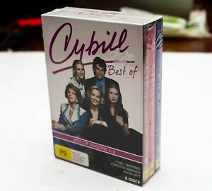 Best of Cybill Complete Season 1 - 4, 8 Disc New Sealed