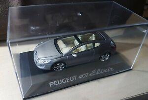 Peugeot 407 Elixir - CONCEPT CARS - LA COLLECTION, N°9 + Fascicule, COMME NEUF