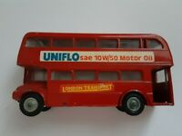 Budgie Double Decker Bus AEC Routemaster Made in England VINTAGE VTG