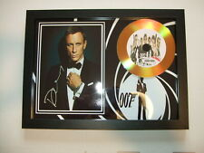 james bond    SIGNED  DISC 33