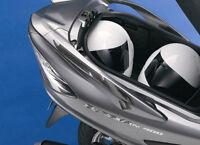2 ADESIVI 3D GEL PROTEZIONE MANIGLIE compatibili per SUZUKI BURGMAN 400 2006-16
