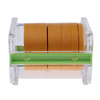 Masking Paper Tape Storage Box with 5 Rolls Model Paint Spray Shield Tapes