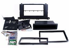 Radio Replacement Dash Mounting Kit 2-DIN w/Pocket & Harness for Toyota