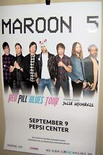 Maroon 5 in Concert Show Poster Denver Co September 9th 2018 Adam Levine Cool